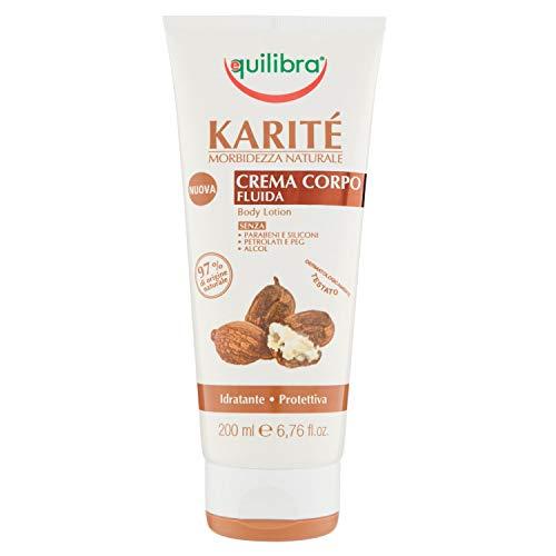 Body Cream Fluid Shea karitè 200 ml