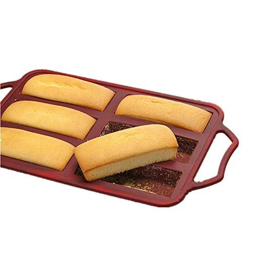KeepingcooX 6 - stick mini brot zinn/kuchenform griffe, stahlrahmen auf anti - verformt, nicht halten, 32,5 x 18 cm, top - qualität