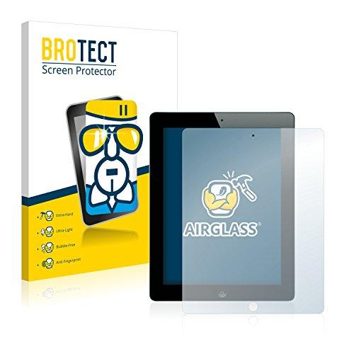 BROTECT Panzerglas Schutzfolie kompatibel mit Apple iPad 2012 (4. Generation) - AirGlass, extrem Kratzfest, Anti-Fingerprint, Ultra-transparent