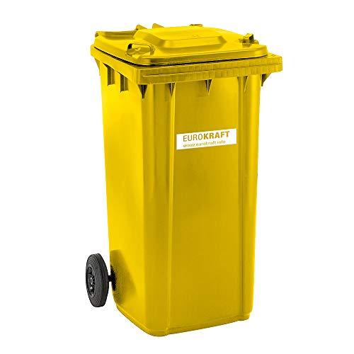 Conteneur à déchets 240 L jaune - 1067...