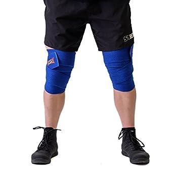 Sling Shot Knee Wraps  2.5m Blue