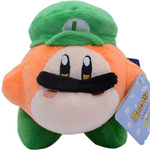 Encantador Super Mario Luigi Star Kirby Juguetes De Peluche Muñeca Colgante 10Cm Juegos De Dibujos Animados Llavero Niños