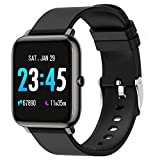 Smartwatch, fitness tracker with blood pressure monitor, blood oxygen and heart rate monitor