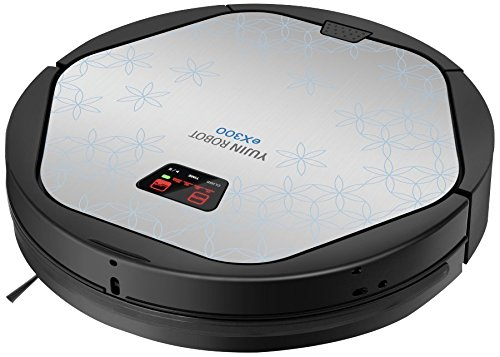 Cheapest Price! Yujin Robot eX300 Smart Home/Office Vacuum Cleaner and Floor Mopping Robot, Extremel...