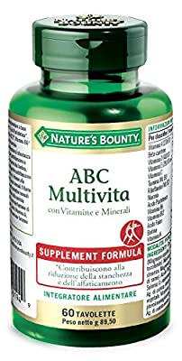 Nature's Bounty ABC Multivita Integratore Alimentare, 60 tavolette