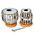 Makan Steel Tabla Bayan & Dayan Set Percussion Musical Instrument