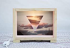 Lámparas,Ligth box, Cajas de luz con fotografías, regalos especiales