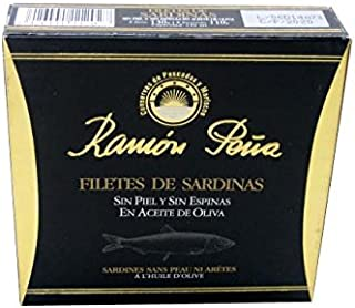 Sardine Fillets without Skin or Bones by Ramon Pena