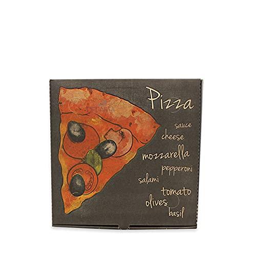 Box Pizza 33x33 Scatola Pizza, Contenitore Pizza per asporto h3,5 95pz