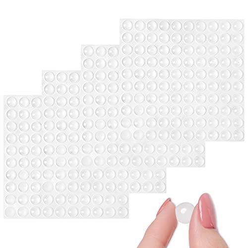 Gotas adhesivas de silicona antiruido transparentes (28 gotas)