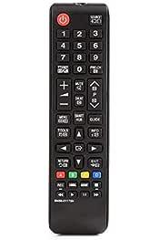 Mando a Distancia Original para Samsung BN59-01175N LED LCD TV DVD VCR 42 Botones Control Remoto Cloverclover: Amazon.es: Electrónica