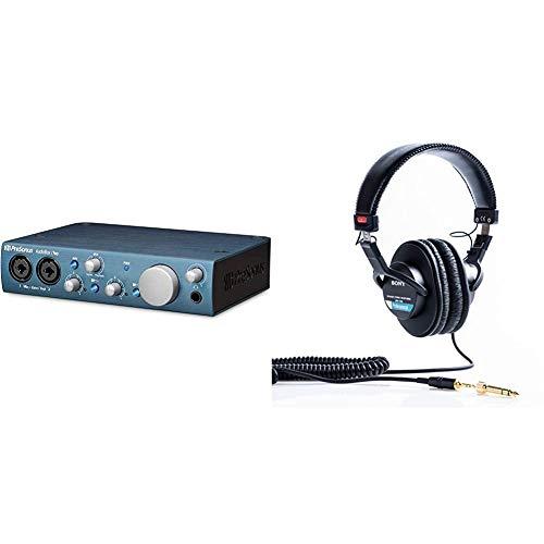 Presonus iTwo USB-Audio-Interface für Apple iPad/Mac/PC & Sony MDR-7506 Studio-Kopfhörer geschlosse