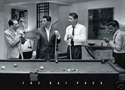 SINATRA - RAT PACK - POOL ROOM - BILLIARDS - NEW POSTER by HSE