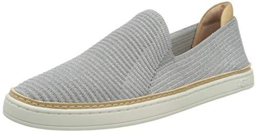 UGG Australia Damen Sammy Sneaker, Seal Silver Rib Knit, 38 EU