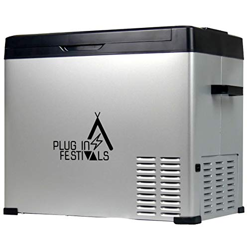 PLUG IN FESTIVALS ® Kompressor Kühlbox...