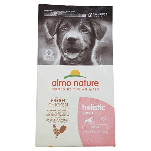 almo nature Holistic Hundefutter, Puppy, Large Dog, Huhn und Reis (12 kg)