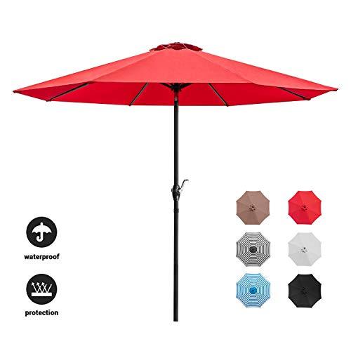Devoko 9 FT Patio Umbrella Outdo...