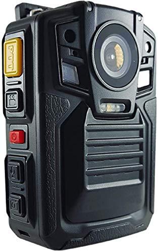 Tragbarer 1296p-Videorecorder mit Audio, 32 MP, Körperkamera, 2 Batterien, Infrarot-Nachtsicht, wasserdicht, Außenaufnahme, CAMMHD HD-body cam, Loop-Aufnahme (32GB)