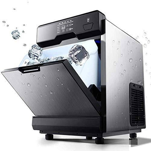 ZJZ Máquina de Hielo automática, máquina de Hielo de Agua Potable Directa móvil casera Máquina de fabricación de Cubitos de Hielo Oficina en casa