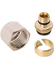 WIROFLEX | klemring adapter voor Wiroflex buis | schroefsysteem | fitting | 1/2 A x 16 mm | voor meerlaagse verbindingsbuis