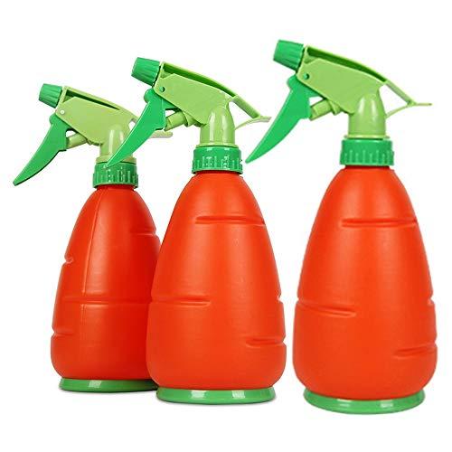 Xyanzi 450ml Sprayflesje,-Candy Gekleurde Spray Bottle Nevelflessen Nevel Trekkerspuitbus Flessen Pomp Sprayer Gieter voor Planten Flower Gardening Huishoudelijke Schoonmaakmiddelen (Color : 3pcs)