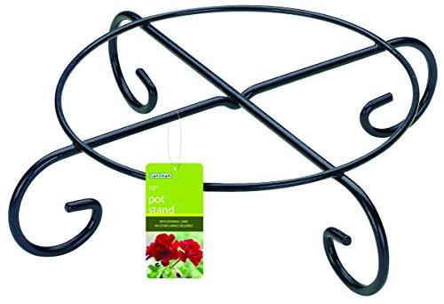 Gardman 09085 Petit Support pour Pot de Fleur Rond 35,5 x 35,5 x 8,5 cm