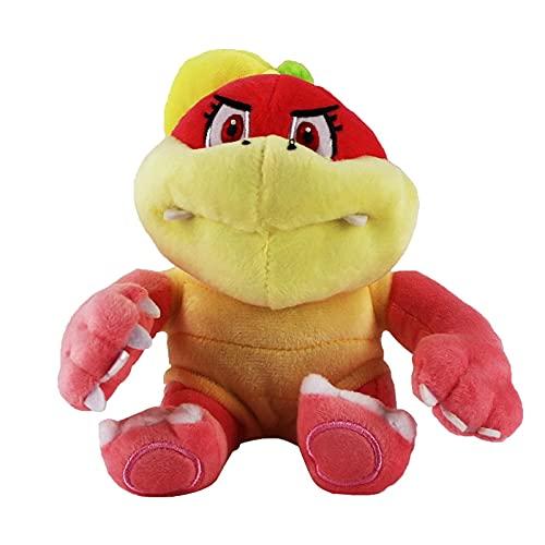 Plush Toys 16cm Cartoon Turtle Plush Toy Mario Bros Boom Pom Koopa Bowser Soft Stuffed Doll