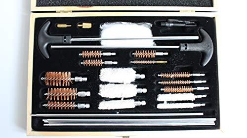 NoGa Kit de limpieza de pistolas de limpieza de pistolas de aire usadas juego de herramientas de limpieza