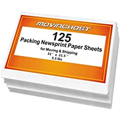 EASY TO USE - Much cleaner than the newspaper (no ink on your hands or the items packed) ECO FRIENDLY - Material is recyclable, biodegradable, acid free and smelless. Much better than using plastic or bubble wrap GREAT SMOOTH PACKING PAPER - Perfect ...
