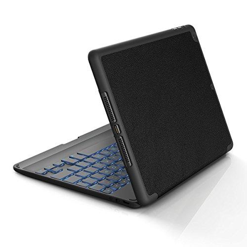ZAGG Folio Case, Hinged with Bluetooth Keyboard for iPad Air - Black