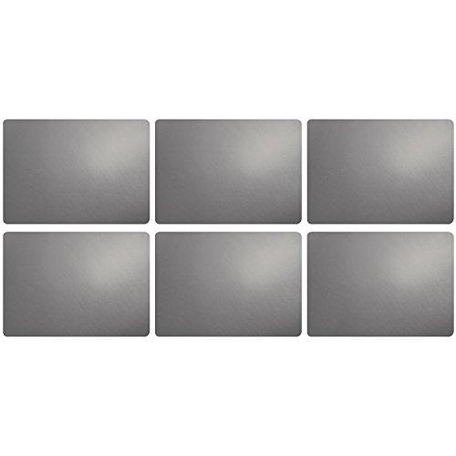 ASA Tischset, Cement 46 x 33 cm, Lederoptik 6 Stück