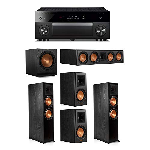 Review Of Klipsch 5.1.2 System - 2 RP-8060FA Speakers,1 RP-504C,2 RP-500M Speakers,1 SPL-120,1 RX-A1...