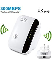 Wireless WiFi Repeater/AP 300Mbps Network Wifi Extender Long Range Extender Access Point Signal Booster