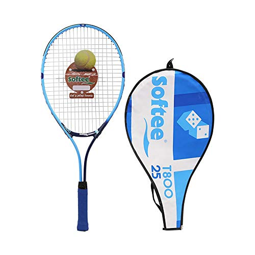 Softee Equipment 0006553 Raqueta Encordada, Unisex, Azul, S