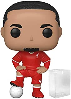 Funko Pop! Soccer: Liverpool F.C. - Virgil Van Dijk #16 Vinyl Figure (Includes Compatible Pop Box Protector Case)