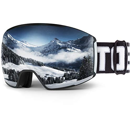 (60% OFF Coupon) Anti Fog UV Protection Ski Goggles $12.00