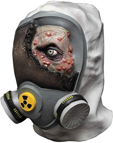 Generique - Maske Zombie Giftgas für Erwachsene - Hand bemalt