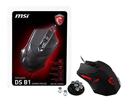 MSI DS B1 Scroll-Rad, PC-Maus, PC/Mac, 2-Wege, Gaming Produkt