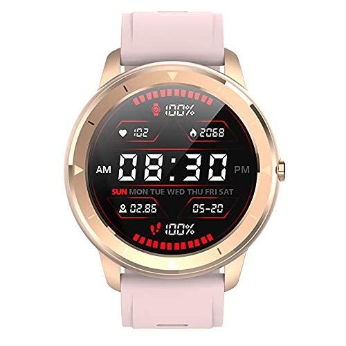 HQPCAHL - Reloj inteligente con herramientas para salud cardíaca, monitor de sueño y contador de calorías de pasos, seguimiento de múltiples modos deportivos, IP68 impermeable para hombres y mujeres
