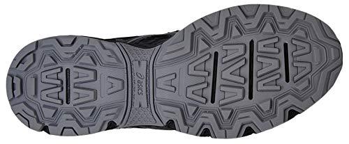 Asics - Chaussures de course Gel-Venture 6 - Pour homme, Noir (Noir/fantôme/gris moyen.), 43.5 EU