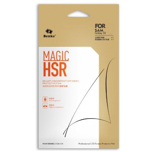 Magic HSR Benks Film Protector Protección Pantalla Cristal LCD y Cámara para...