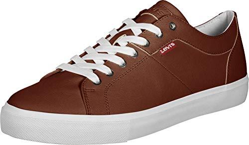 Levi's Woodward, Sneaker Uomo, Marrone (Medium Brown 27), 41 EU