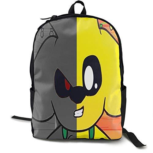 IUBBKI Casual Classic Backpack Mike-Crack Shoulder Backpacks Waterproof Bags Work Computer Backpack Travel Hiking Camping Daypack Backpack for Men/Women