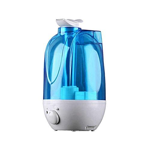 YSNMM 4L ultrasone luchtbevochtiger mini aroma luchtbevochtiger luchtreiniger met -lampbevochtiger draagbare mistmaker met EU-stekker