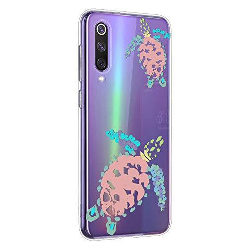 Oihxse Funda para Xiaomi Redmi 6A Transparente, Estuche con Xiaomi Redmi 6A Ultra-Delgado Silicona TPU Suave Protectora Carcasa Océano Animal Serie Bumper (C2)
