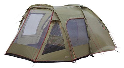 High Peak 11575 Tente dôme Mixte Adulte, Olive Toscane, 500 x 290 x 180 cm
