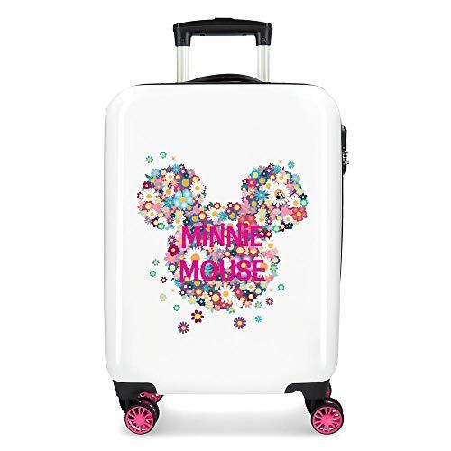 Disney Minnie Sunny Day Maleta de cabina Rosa 37x55x20 cms Rígida ABS Cierre combinación 34L 2,6Kgs 4 Ruedas dobles Equipaje de Mano