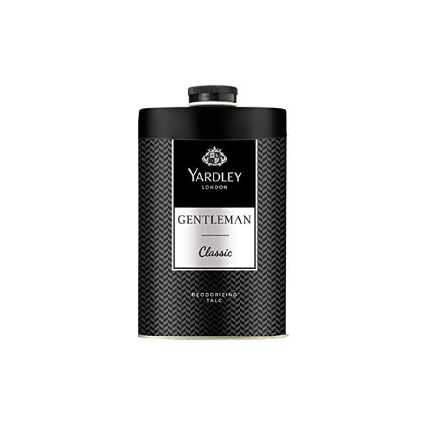 Yardley London Gentleman Deodorizing Talc Talcum Powder for Men 100gm 1