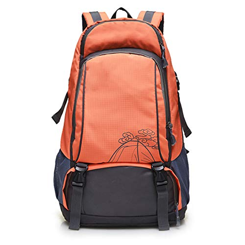 LXXYJ Outdoor Trekking Backpack,Waterproof Camping Backpacking,Hiking Backpack Suitable for Women Men Child Running Cycling Mountaineering Travel,Orange,upgraded version