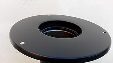 Conducto de 80 mm de pared estufa chimenea los tubos de escape